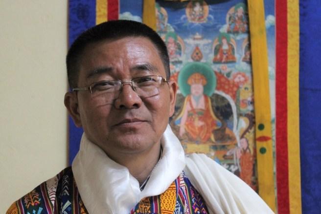 Dorji Dhradhul, directeur général du Conseil du tourisme du Bhoutan (TCB)