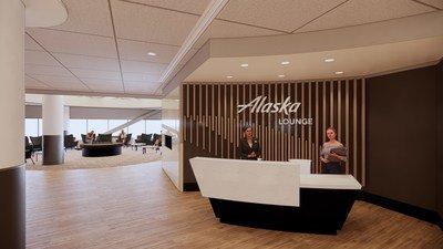 Alaska Airlines ouvrira un salon à l'aéroport international de San Francisco