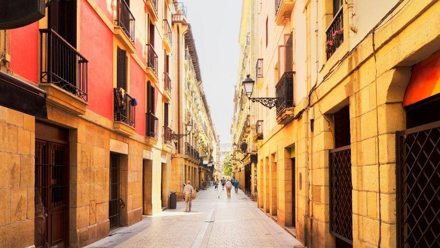 Parte Vieja San Sebastián.