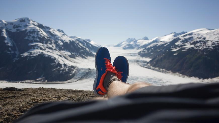 les glaciers alpins disparaissent en raison du réchauffement climatique