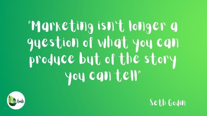 Le marketing n'est plus une question de ce que vous pouvez produire mais de l'histoire que vous pouvez raconter