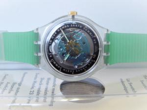 """Le premier échantillon Earth Swatch - """"Entre nos mains le Sommet de la Terre '92"""" - est mis aux enchères en tant que jeton non fongible (NFT)"""