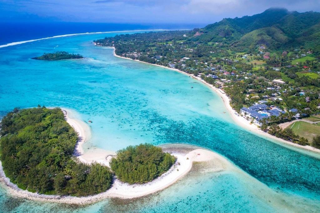 Lagunes bleues: vivre la belle vie dans les îles Cook.  Image fournie par Ani Thompson.