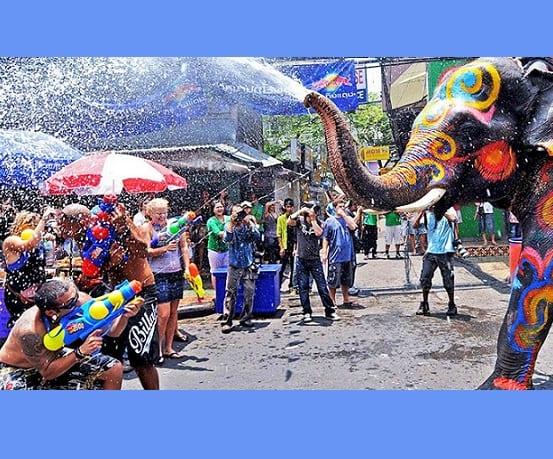 Vacances en Thaïlande à Songkran: pas de quarantaine ni de verrouillage