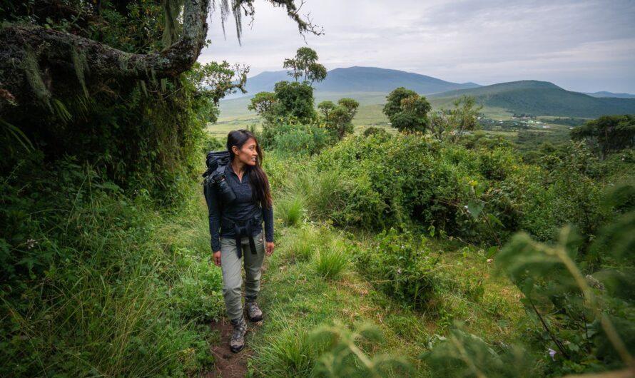 RANDONNÉE AU CRATÈRE D'OLMOTI À NGORONGORO, TANZANIE