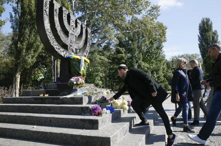 L'Ukraine rend hommage aux personnes qui ont sauvé des Juifs pendant l'Holocauste dans la nouvelle synagogue Babyn Yar