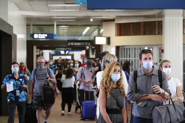 484071 visiteurs sont arrivés par avion à Hawaï en avril 2021