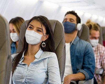 Conseils pour réduire le risque d'infection en vol