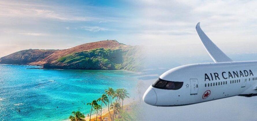 Air Canada annonce de nouveaux vols à Hawaï au départ de Montréal, Toronto, Calgary et Vancouver