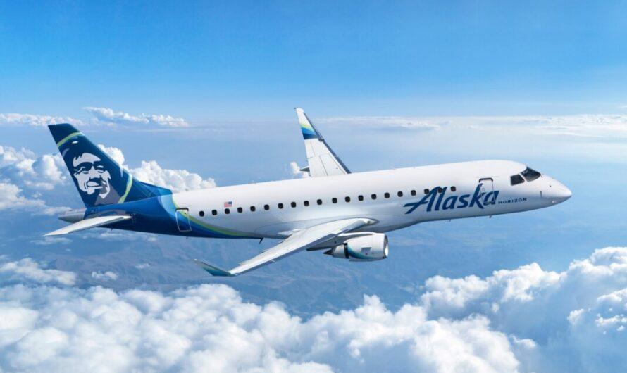 Alaska Air Group commande 9 nouveaux appareils Embraer E175 pour une opération avec Horizon Air