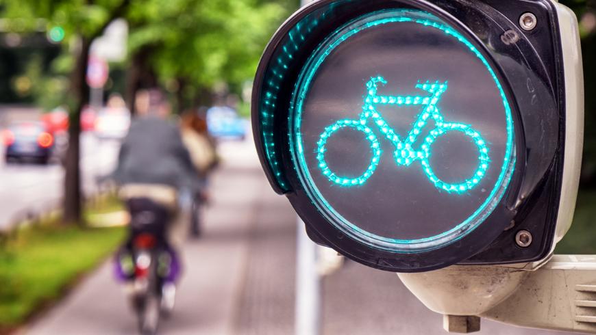 Le vélo est le bon moyen d'atteindre le lieu de travail