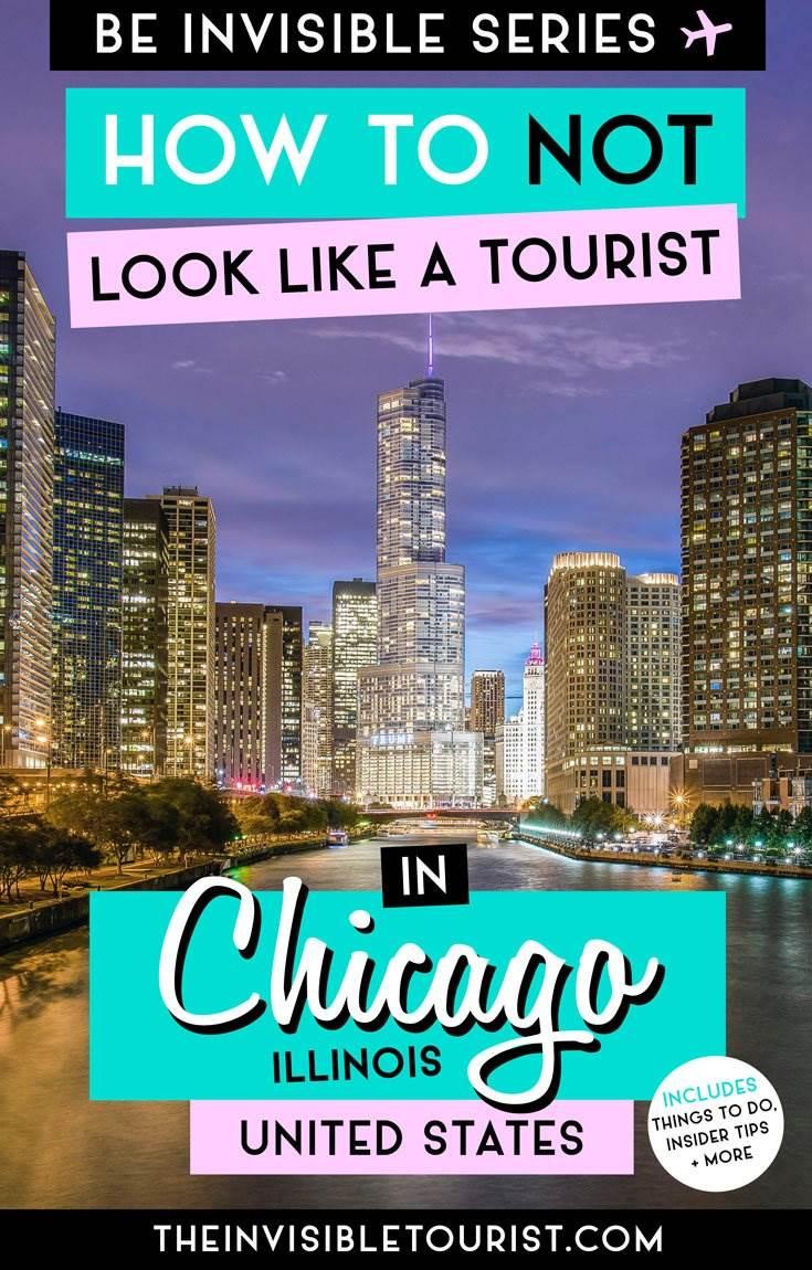 Comment ne pas ressembler à un touriste à Chicago, États-Unis »wiki utile  Le touriste invisible #chicago #chicagotravel #cityguide #invisibletourism #usa #likealocal #chicagothingstodo