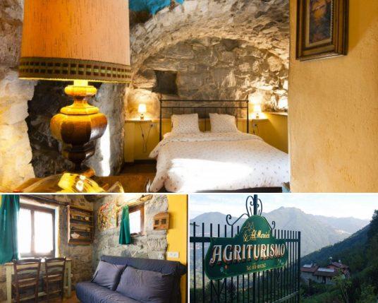 l'un des meilleurs éco-hôtels des lacs du nord de l'Italie, entre le lac de Côme et le lac de Lugano