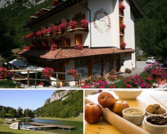 l'un des éco-hôtels les plus étonnants des lacs du nord de l'Italie