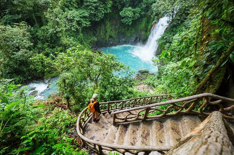Cascade au Costa Rica