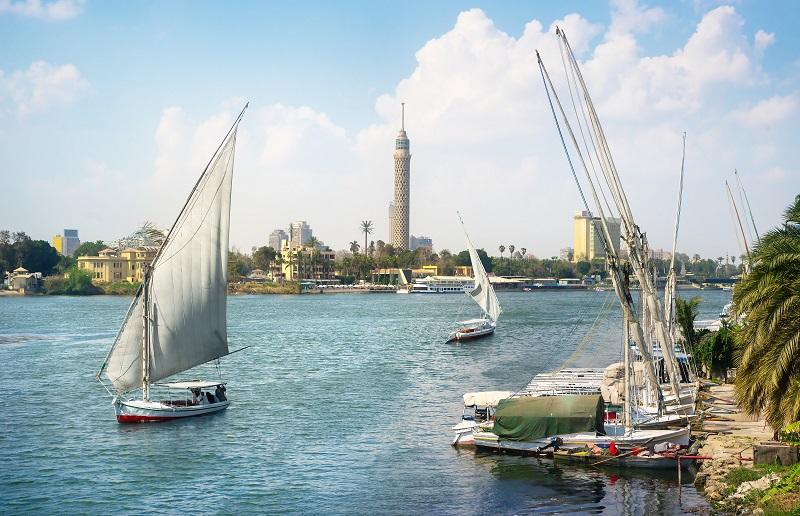 Voiliers au Caire
