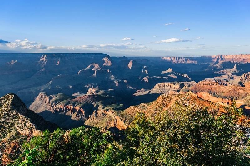 Le paysage du Grand Canyon en Arizona, USA