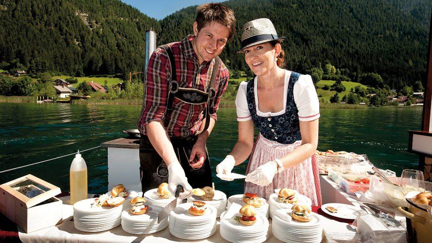 expérience locale à weissensee Autriche