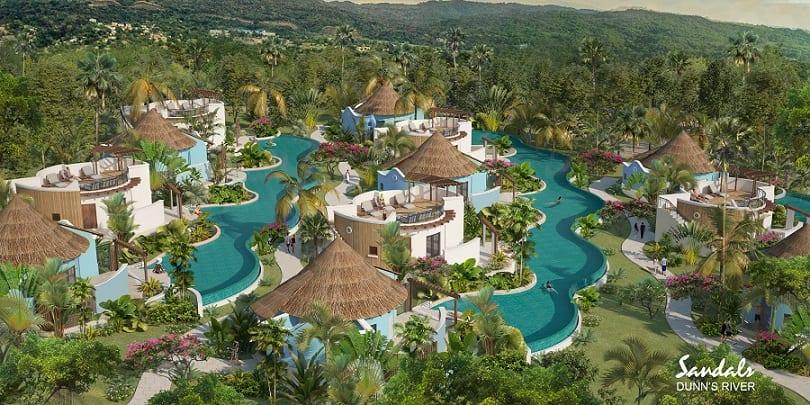 Nouvelles stations balnéaires de la Jamaïque gracieuseté de Sandals