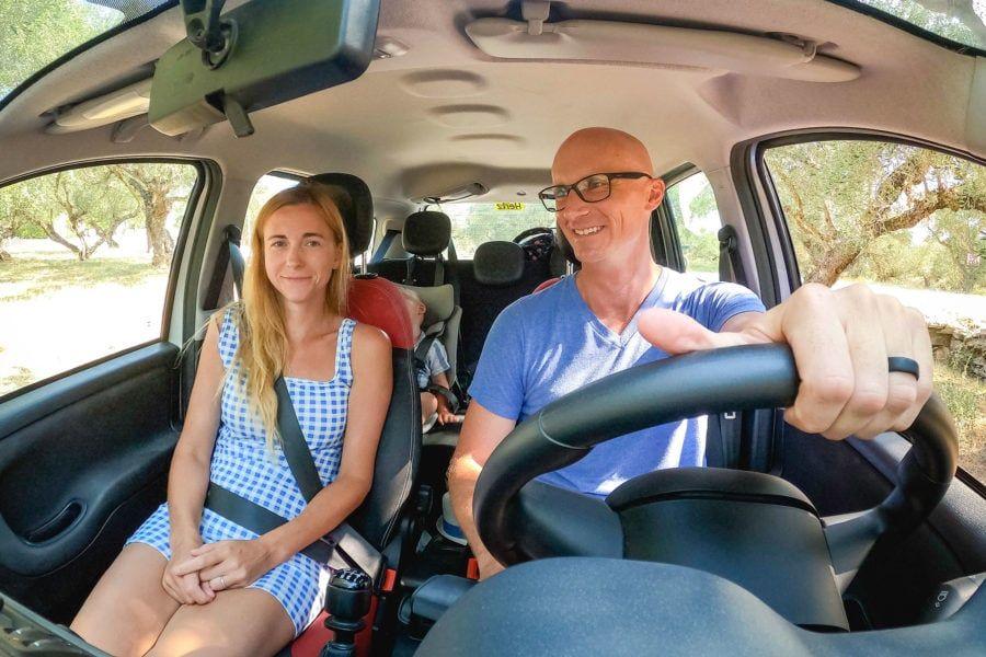Conduire en Grèce
