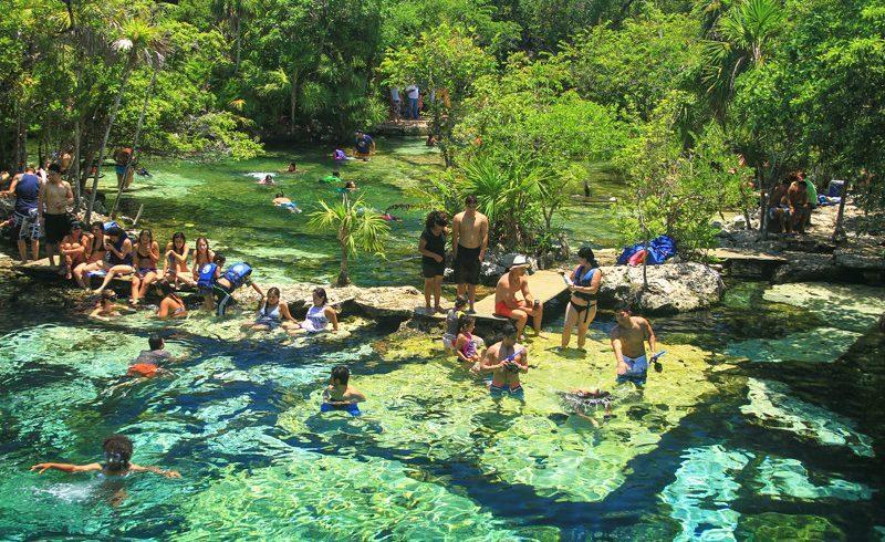 Gran Cenote, Mexique