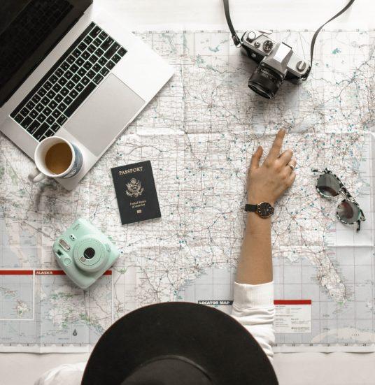préparer votre voyage avec passeport