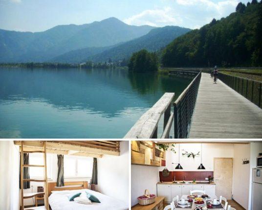 l'un des meilleurs éco-hôtels des lacs du nord de l'Italie, lac de caldonazzo