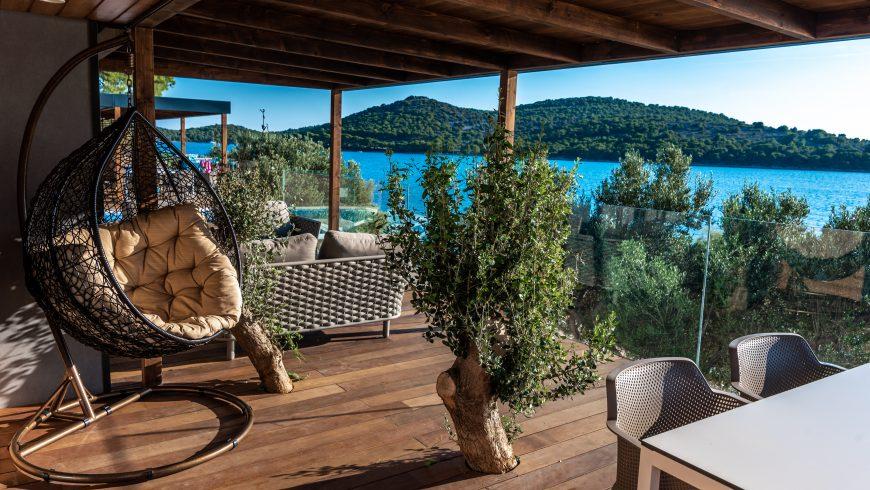 Olivia Green Camping en Dalmatie: durabilité et luxe