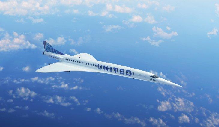 United Airlines achète 15 jets supersoniques à Boom Supersonic