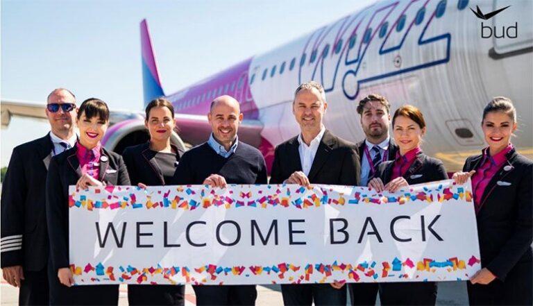 Wizz Air reconnecte l'aéroport de Budapest à sept autres villes européennes