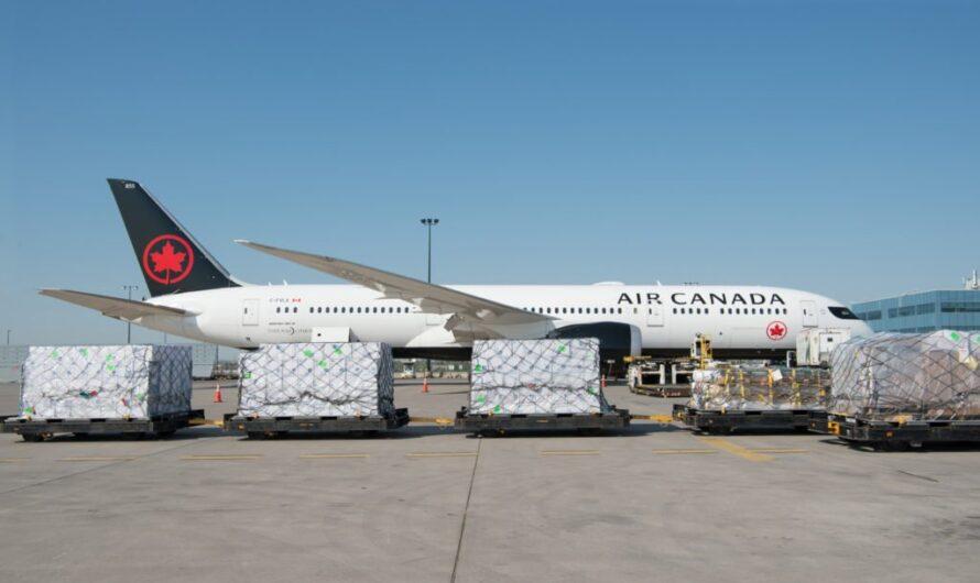 Air Canada Cargo annonce les itinéraires de lancement de son nouvel avion cargo