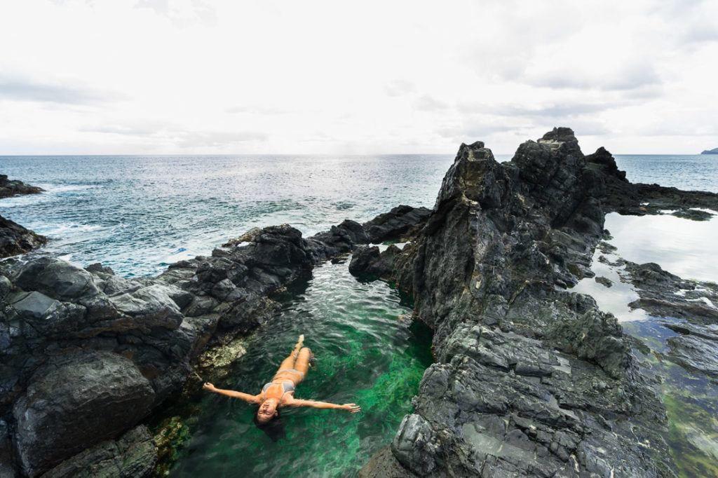 yoga îles mokulua