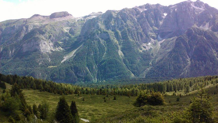Val Meledrio près de Dimaro Folgarida