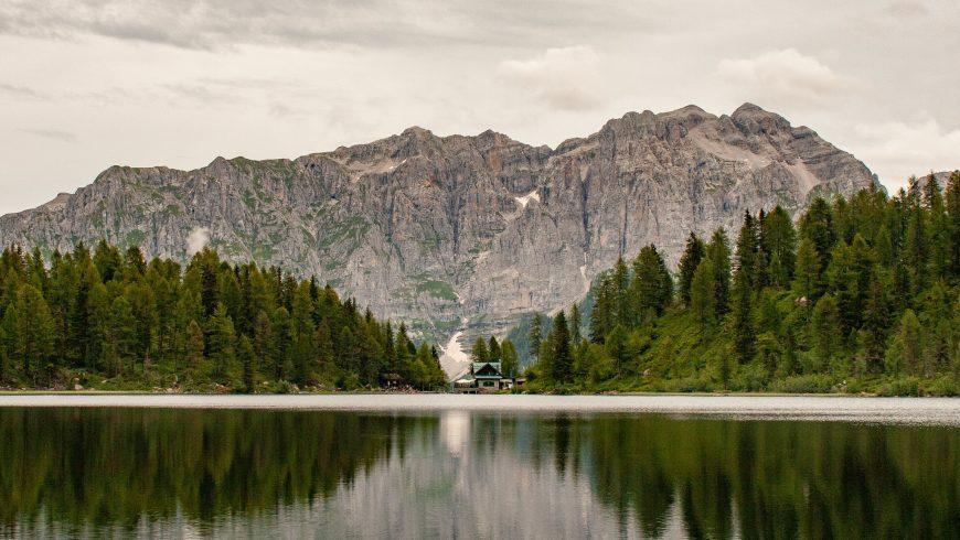 Lac Malghette près de Dimaro Folgarida