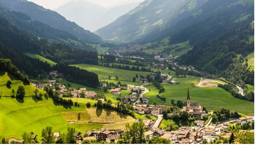 Val Passiria, Italie