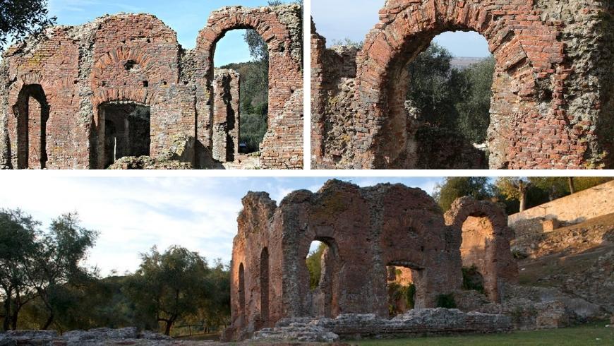 espaces verts en versilia, les ruines romaines