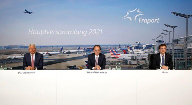 L'assemblée générale virtuelle annuelle de Fraport 2021 approuve tous les points de l'ordre du jour