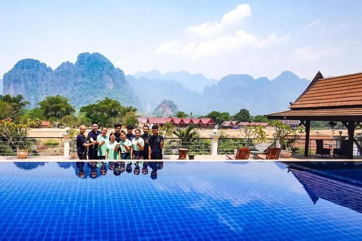 Éthiquement vôtre : Silver Naga, Vang Vieng, Laos