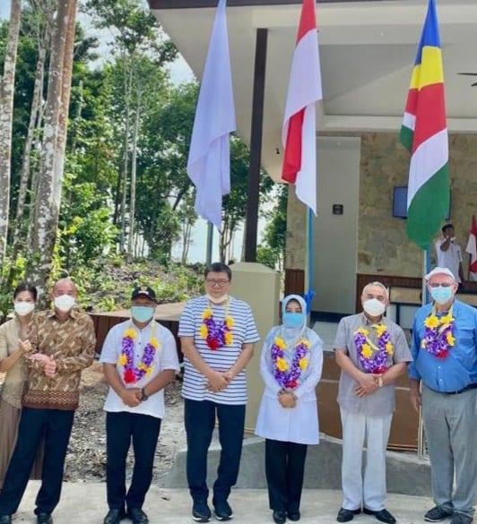 Le tourisme indonésien voit l'ouverture des villas et du sanctuaire d'Arasatu