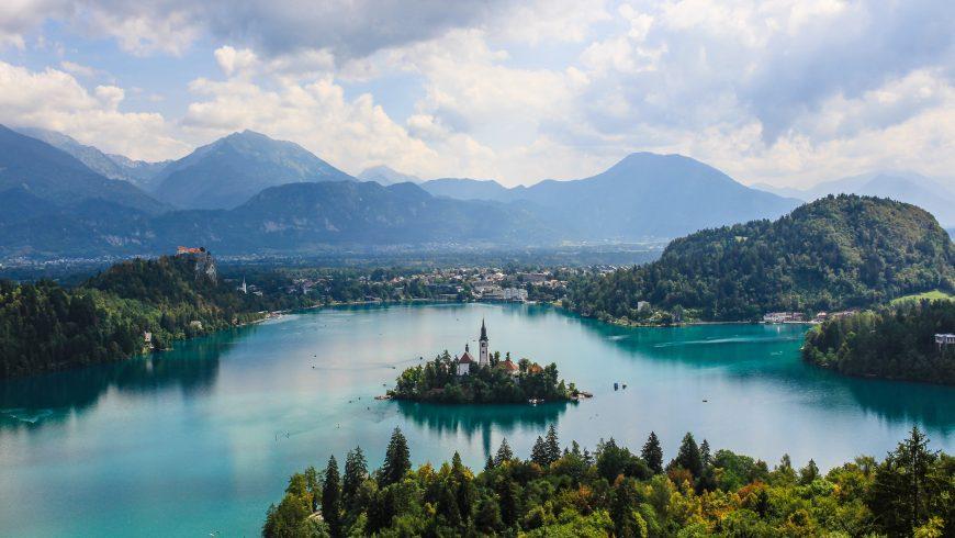 bled, slovénie, destination verte