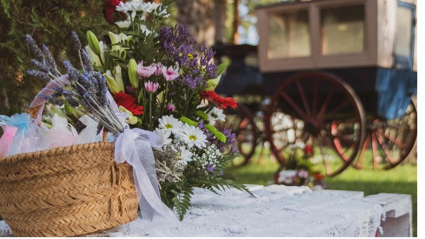 Lieu : un cadre bucolique pour votre mariage éco-chic