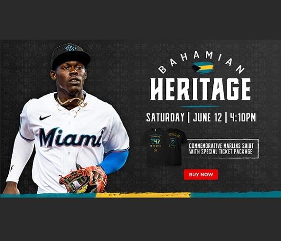 L'héritage des Bahamas sera célébré au match des Marlins de Miami le 12 juin 2021