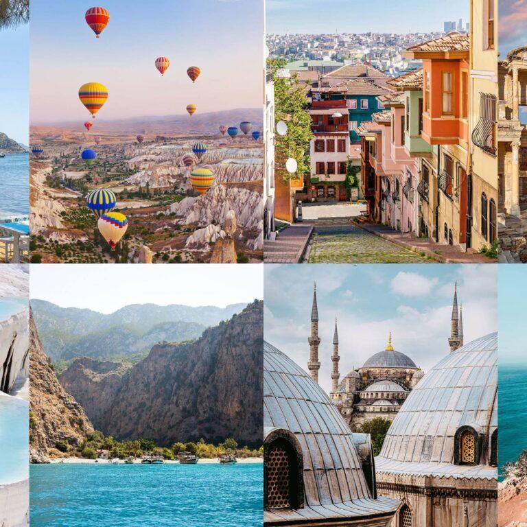 10 des plus beaux endroits de Turquie