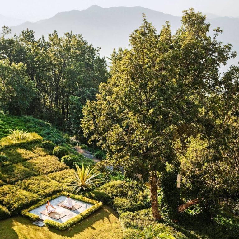 Ananda dans l'Himalaya, Inde : avis sur le spa
