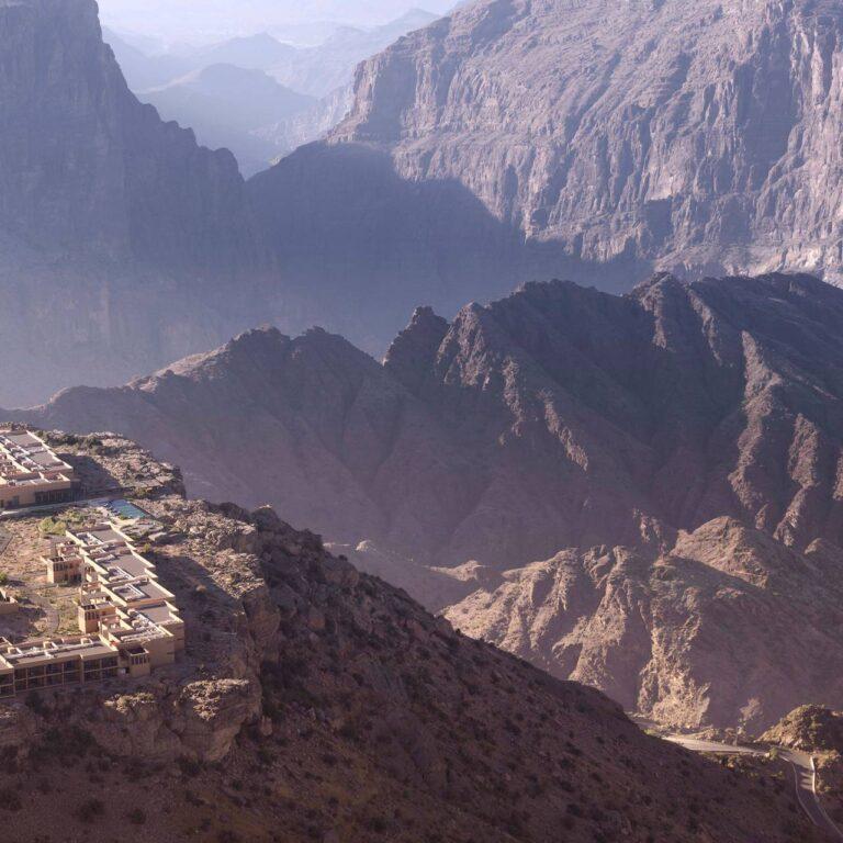 Anantara Al Jabal Al Akhdar Resort : l'hôtel le plus ambitieux d'Oman