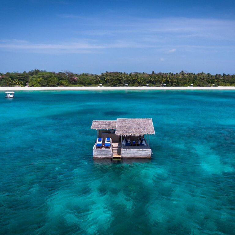 La retraite de l'île des Philippines avec le meilleur bar du monde