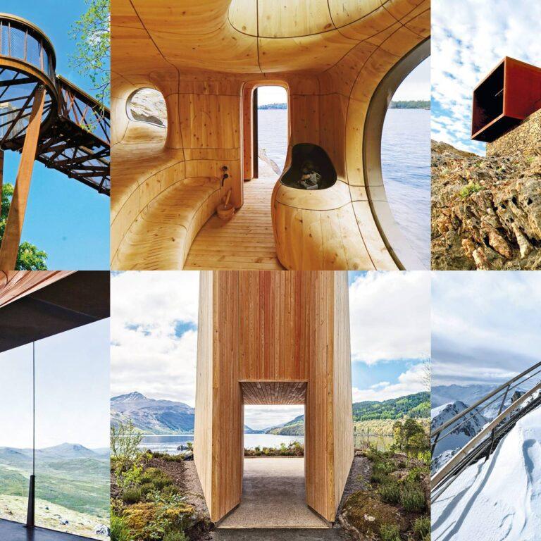 La tendance architecture : des points de vue époustouflants