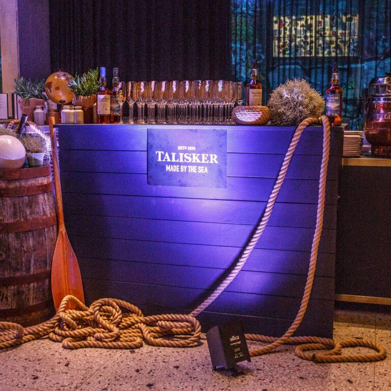 Une soirée avec Talisker Whisky et les quatre rameurs