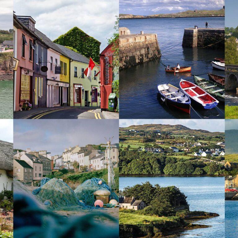 12 des plus beaux villages et petites villes d'Irlande
