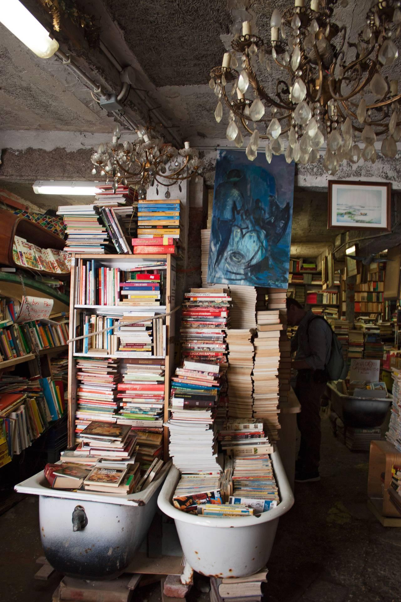 Libreria Acqua Alta, Venise, Italie